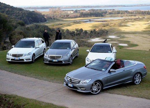 Prova su strada della Nuova Mercedes Classe E berlina, station wagon, cabrio e coupé