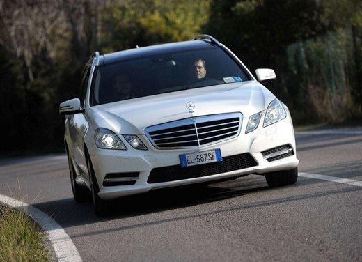 Prova su strada della Nuova Mercedes Classe E berlina, station wagon, cabrio e coupé - Foto 8 di 29