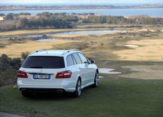 Prova su strada della Nuova Mercedes Classe E berlina, station wagon, cabrio e coupé - Foto 5 di 29