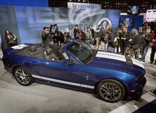 Nuova Ford Mustang Shelby GT500 - Foto 1 di 23