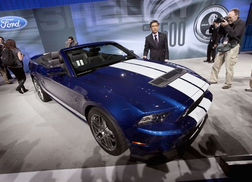 Nuova Ford Mustang Shelby GT500