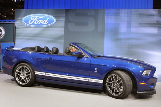 Nuova Ford Mustang Shelby GT500 - Foto 5 di 23