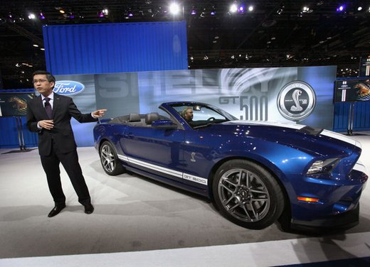 Nuova Ford Mustang Shelby GT500 - Foto 7 di 23