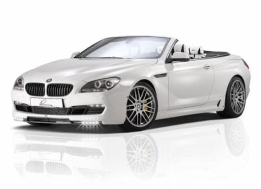 BMW 650i Cabriolet tuning by Lumma Design