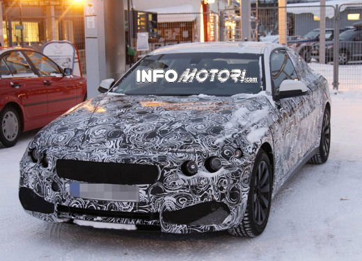 Video spia della BMW Serie 4 Coupé - Foto 9 di 10