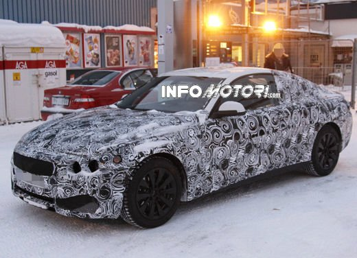Video spia della BMW Serie 4 Coupé - Foto 10 di 10