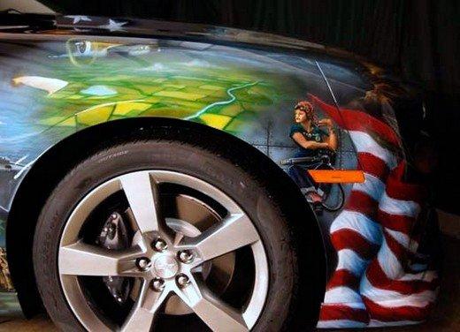 """Chevrolet Camaro """"American Pride"""", la muscle car diventa arte - Foto 6 di 24"""