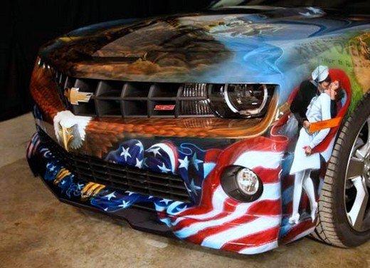 """Chevrolet Camaro """"American Pride"""", la muscle car diventa arte - Foto 9 di 24"""