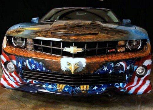 """Chevrolet Camaro """"American Pride"""", la muscle car diventa arte - Foto 4 di 24"""