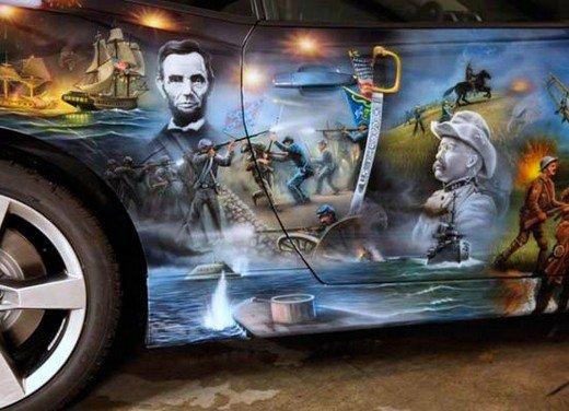 """Chevrolet Camaro """"American Pride"""", la muscle car diventa arte - Foto 16 di 24"""