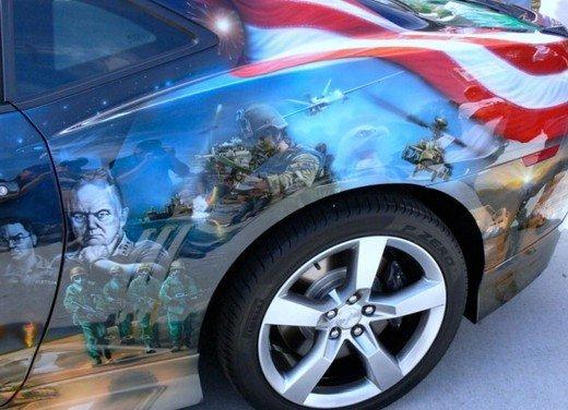 """Chevrolet Camaro """"American Pride"""", la muscle car diventa arte - Foto 24 di 24"""