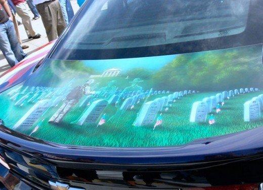 """Chevrolet Camaro """"American Pride"""", la muscle car diventa arte - Foto 8 di 24"""