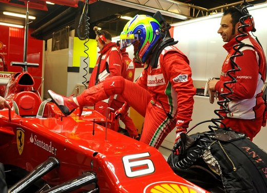 F1 test Barcelllona: Ferrari F2012 settima, Maldonado e Williams in testa - Foto 6 di 24