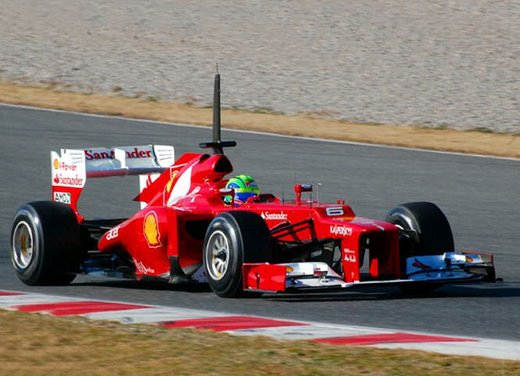 F1 test Barcelllona: Ferrari F2012 settima, Maldonado e Williams in testa - Foto 4 di 24