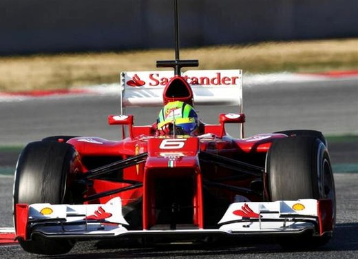 F1 test Barcelllona: Ferrari F2012 settima, Maldonado e Williams in testa - Foto 5 di 24