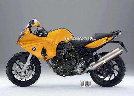 BMW S 900: il rendering di Infomotori