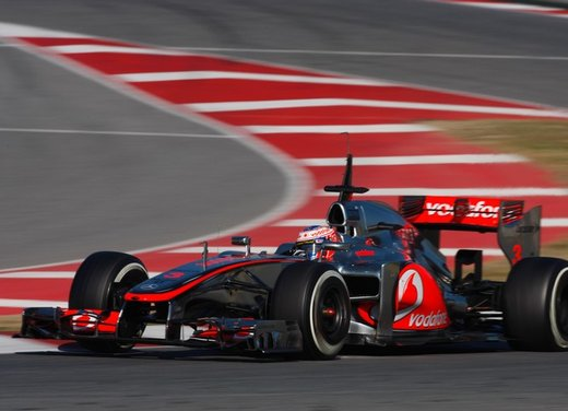 F1 test Barcelllona: Ferrari F2012 settima, Maldonado e Williams in testa - Foto 14 di 24
