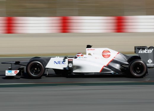 F1 test Barcelllona: Ferrari F2012 settima, Maldonado e Williams in testa - Foto 19 di 24