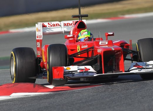 F1 test Barcelllona: Ferrari F2012 settima, Maldonado e Williams in testa - Foto 22 di 24