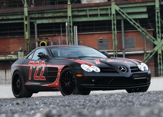 Mercedes SLR McLaren Black Arrow by Edo Competition - Foto 10 di 19