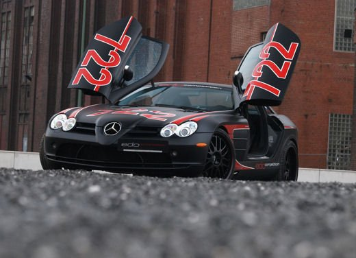 Mercedes SLR McLaren Black Arrow by Edo Competition - Foto 13 di 19