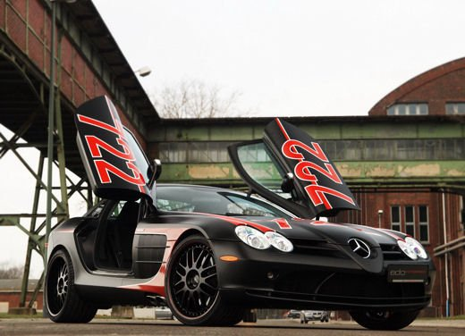 Mercedes SLR McLaren Black Arrow by Edo Competition - Foto 19 di 19