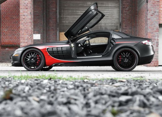 Mercedes SLR McLaren Black Arrow by Edo Competition - Foto 2 di 19