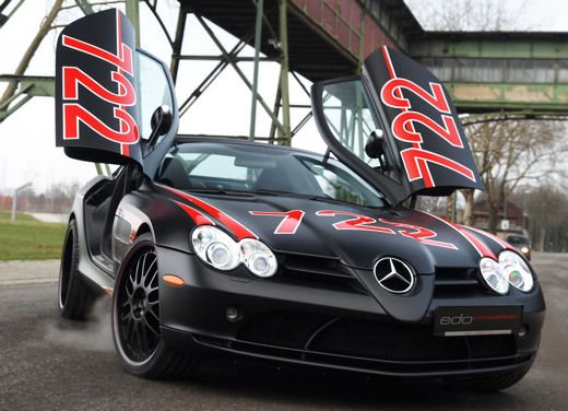 Mercedes SLR McLaren Black Arrow by Edo Competition