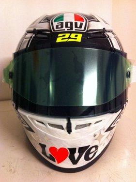 Dainese ed AGV proteggono con casco e tuta i campioni di MotoGP e SBK con Valentino Rossi e Max Biaggi in testa - Foto 8 di 16