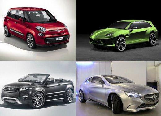 Auto novità 2012 – 2015