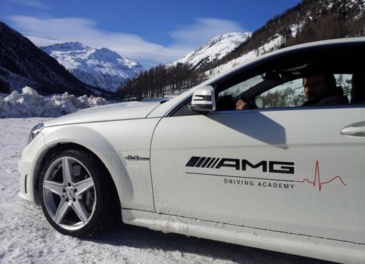 AMG Driving Academy, Corso di guida su neve - Foto 3 di 7