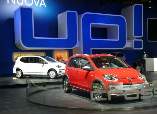 Volkswagen up! arriva il motore 2 cilindri diesel TDI