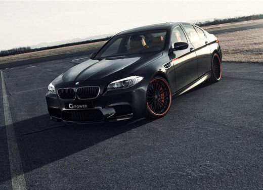 BMW M5 tuning by G-Power
