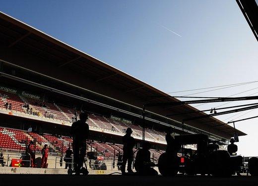 F1 test Barcellona: Alonso e la Ferrari chiudono al quarto posto - Foto 10 di 32