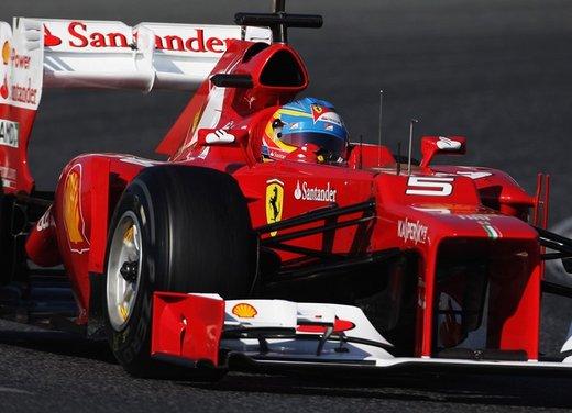 F1 test Barcellona: Alonso e la Ferrari chiudono al quarto posto - Foto 13 di 32