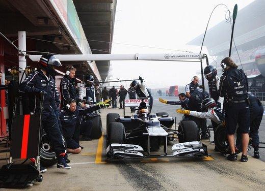 F1 test Barcellona: Alonso e la Ferrari chiudono al quarto posto - Foto 16 di 32