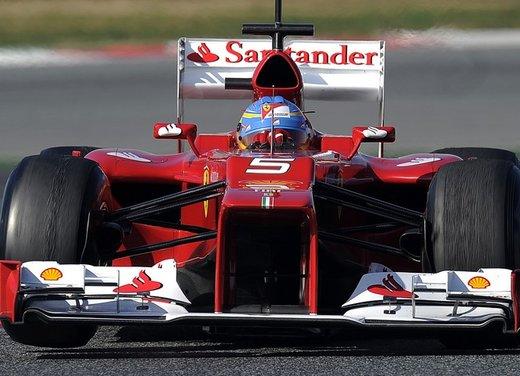 F1 test Barcellona: Alonso e la Ferrari chiudono al quarto posto - Foto 5 di 32
