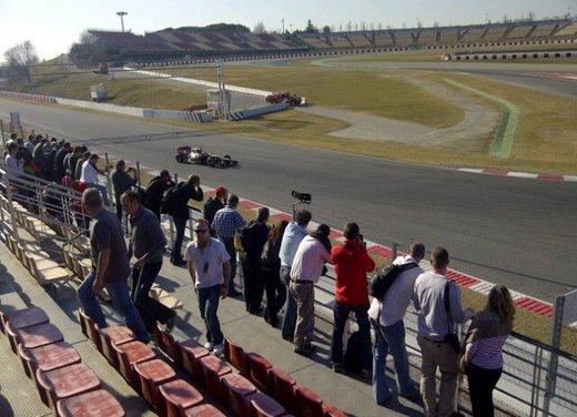 F1 test Barcellona: Alonso e la Ferrari chiudono al quarto posto - Foto 7 di 32