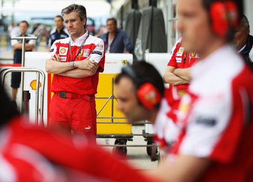 F1 2012: per il DT Pat Fry la Ferrari non può lottare per la vittoria nei primi GP - Foto 1 di 24
