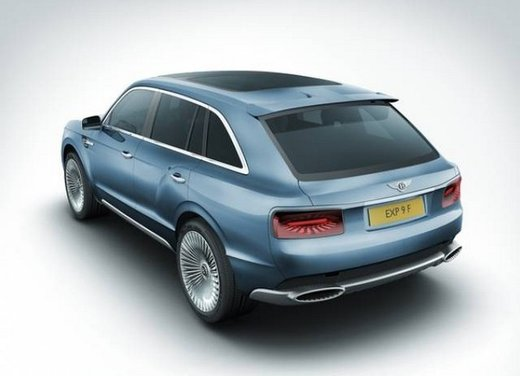 Bentley EXP 9 F Concept - Foto 35 di 43