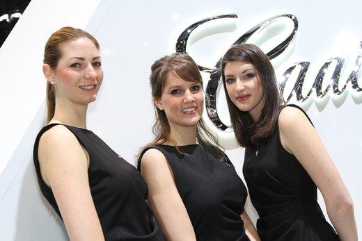 Tutte le più belle ragazze del Salone di Ginevra 2012 - Foto 14 di 24