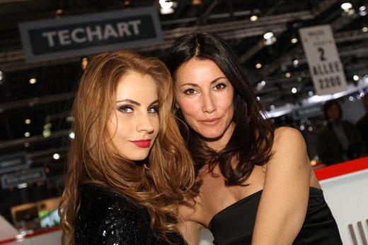 Tutte le più belle ragazze del Salone di Ginevra 2012 - Foto 15 di 24