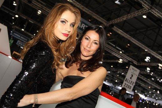 Tutte le più belle ragazze del Salone di Ginevra 2012 - Foto 19 di 24