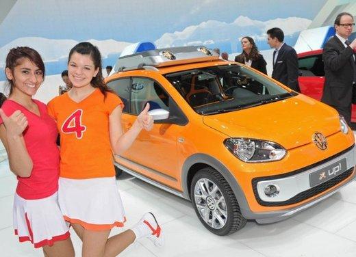 Volkswagen Up! quattro concept car al Salone di Ginevra 2012