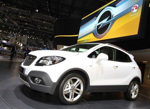 Opel Mokka, prezzi e promozioni del nuovo SUV compatto Opel - Foto 16 di 16