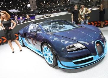 Le pi? belle e lussuose auto del Salone di Ginevra 2012