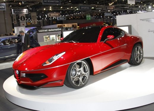 Alfa Romeo Disco Volante by Touring Superleggera