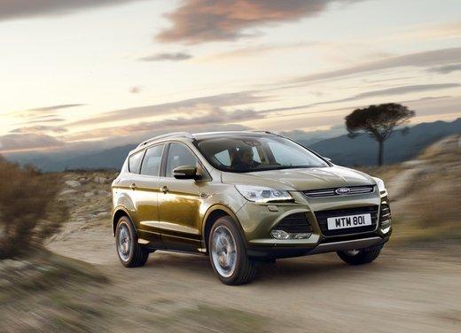 5 stelle EuroNCAP per Ford Kuga