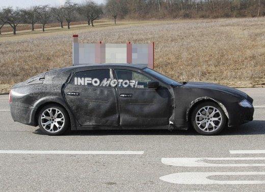 Nuove foto spia della Maserati Quattroporte durante i collaudi - Foto 13 di 18