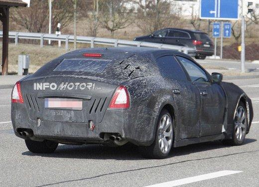 Nuove foto spia della Maserati Quattroporte durante i collaudi - Foto 17 di 18